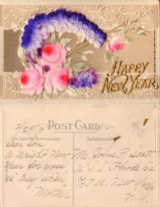 Document Scanning | 1910 Postcard