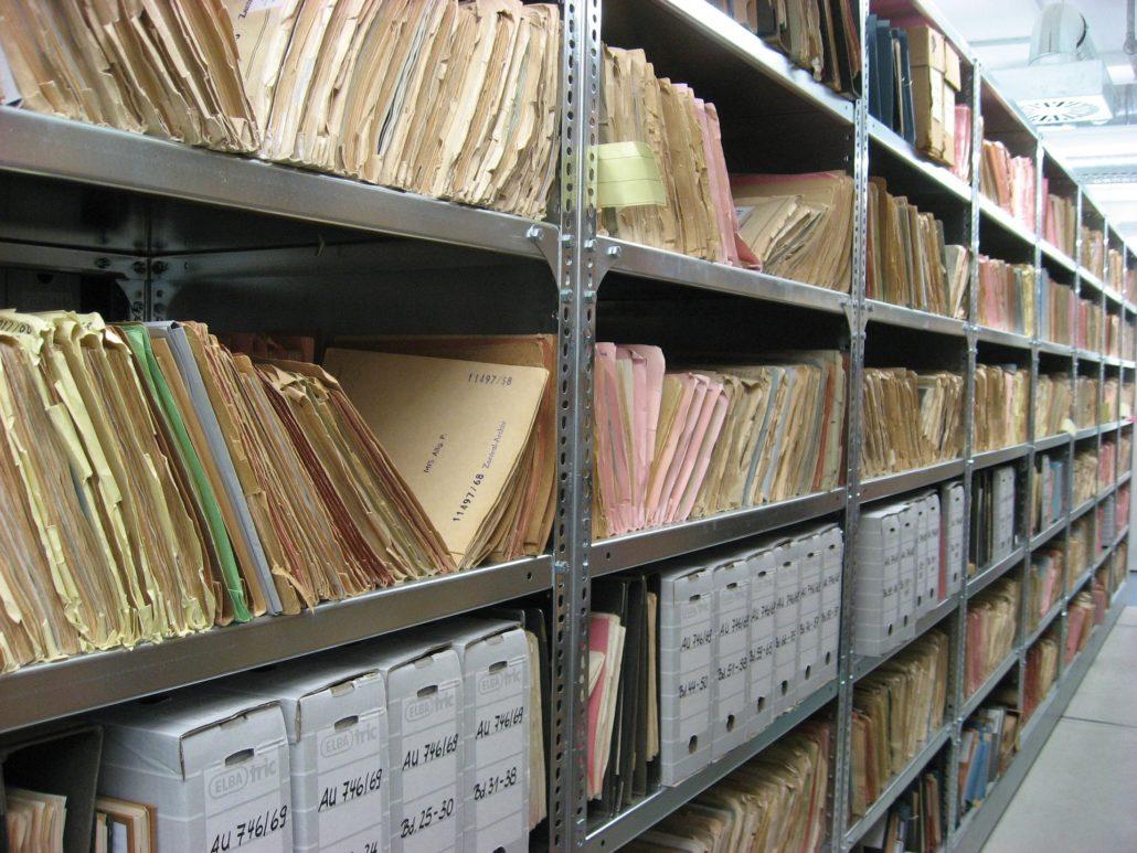 backfile conversion for file storage