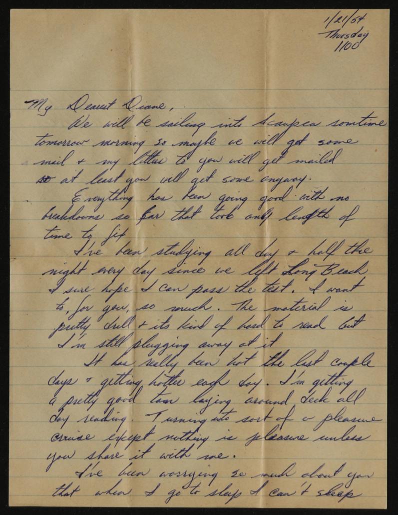 Digitized handwritten letter