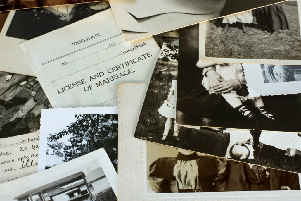 A variety of sources can be used to answer genealogy questions